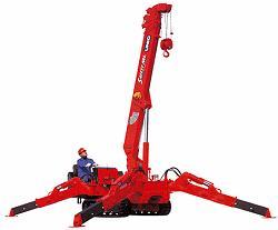 Unic URW-376 Crane