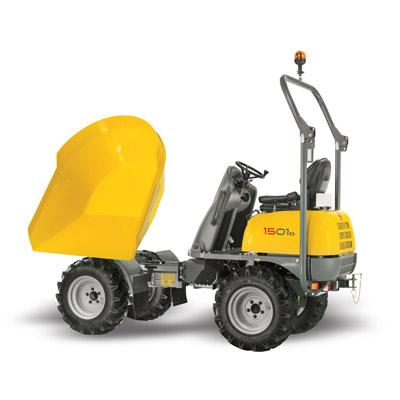 Wacker Neuson 2 Tonne 4 Wheel Dumper
