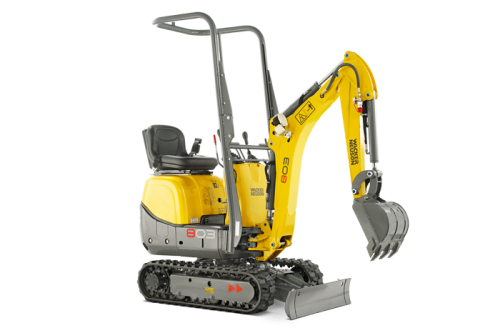 Wacker Neuson 803 with Dual Power