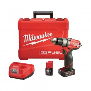 Milwaukee M12 3-8inch Hammer Drill Driver Kit