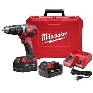 Milwaukee M18  1-2inch Compact Hammer Drill Driver Kit