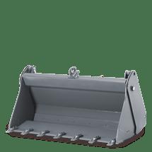Multi-purpose bucket with teeth