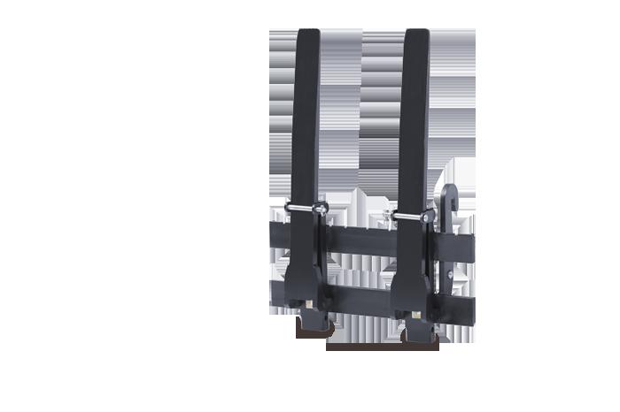 Pallet fork - foldable