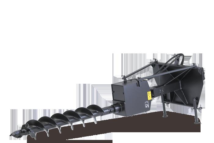 Soil auger