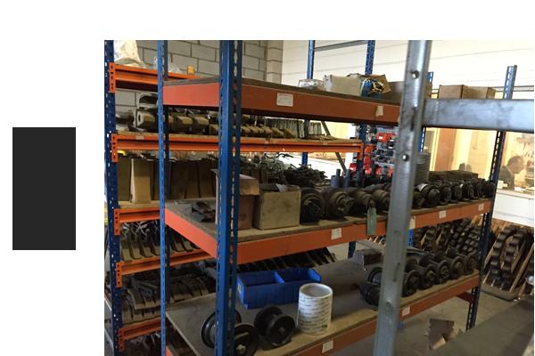 Spare Machine Parts at Ferrybridge 3